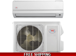YMGI 18000 Btu Mini Split 16 Seer DC Inverter Heat Pump AC