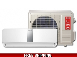 Olmo 9000Btu 15 Seer 220V Mini Split Heat Pump AC by Comfortside