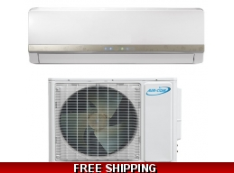 AirCon 9000 Btu 15 Seer 220v Mini Split Heat Pump AC