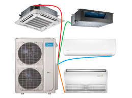 Multi Zone Ductless Mini Split Air Conditioners And Heat Pumps