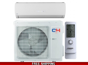 C&H 18000 Btu 21 Seer Mini Split Heat Pump AC Karolina Series