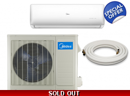 Midea 18000 Btu 21 SEER Super DC Inverter Mini S..