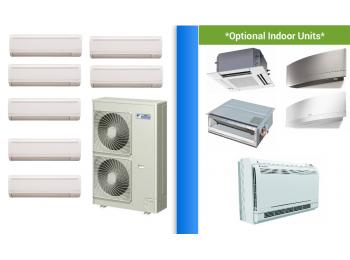 Daikin 7 Zone Ductless Mini Split Heat Pump Air Conditioner