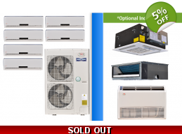 YMGI Multi 6 Zone 47K Ductless Heat Pump AC Cons..