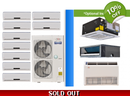 YMGI Multi 9 Zone 52K Ductless Heat Pump AC Cons..