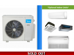 Midea Custom Built Multi Zone Ductless Mini Split System up to 22 SEER