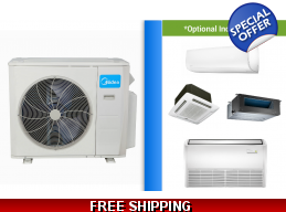 Midea Custom Built Multi 2-5 Zone Ductless Mini ..