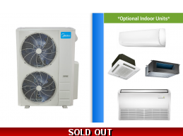 Midea Custom Built 48K Multi Zone Mini Split System up to 21 SEER