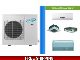 AirCon Custom Built Multi Zone Mini Split Heat Pump AC up to 22 SEER