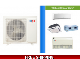 C&H Custom Built Multi Zone Mini Split AC Victoria up to 22 SEER