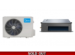 Midea 36000 Btu 15.5 Seer Slim Ducted Mini Split Heat Pump AC
