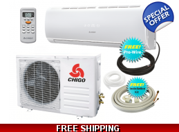Chigo 21000 Btu 19 Seer Mini Split Heat Pump Air..