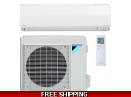 Daikin 30000 BTU 17.5 SEER NV Series Ductless Heat Pump AC