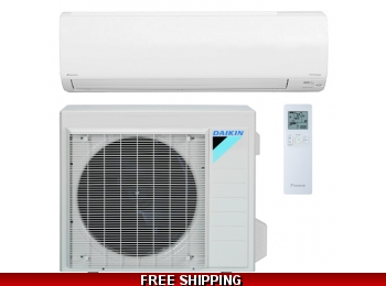 Daikin 30000 BTU 17.5 SEER NV Series Mini Split Heat Pump