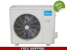 Midea 36000 BTU Mini Split Heat Pump AC Ductless..