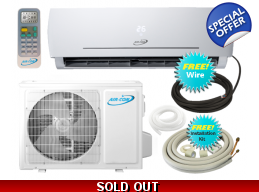 AirCon 24000 Btu 21 SEER 220V Mini Split Heat Pump Air Conditioner