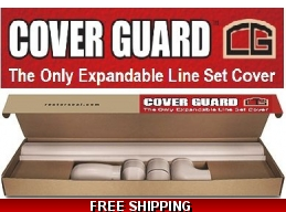 Line Set Cover Deluxe Cover Guard Adjustable & Heavy Duty