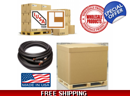 10 Master Cartons of Install Kits for Ductless Systems Wholesale Lot