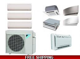 Daikin 3 Zone 24K Mini ..
