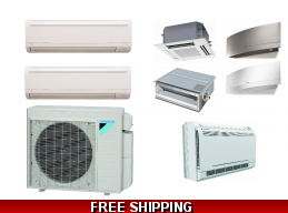 Daikin 2 Zone 18K Mini ..