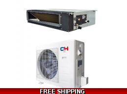 C&H 36000 Btu 16.5 SEER Light Commercial Grade Ducted Heat Pump AC