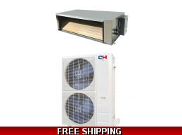 C&H 60000 Btu 18 SEER Light Commercial Grade Ducted Heat Pump AC