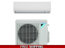 Daikin 12000 Btu 19 SEER Ductless Mini Split Heat Pump Air Conditioner