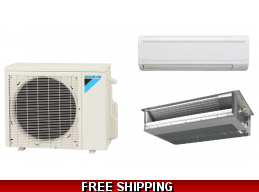 Daikin 9000 Btu LV Series Ductless Mini Split Heat Pump AC