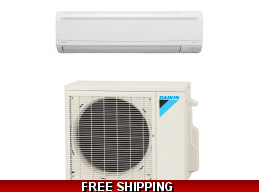 Daikin 15000 Btu 20.6 SEER LV Series Mini Split Heat Pump AC