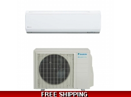 Daikin 15000 Btu 21 SEER Ductless Mini Split Heat Pump AC