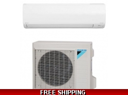 Daikin 36000 BTU 15.9 SEER Ductless Mini Split Heat Pump AC