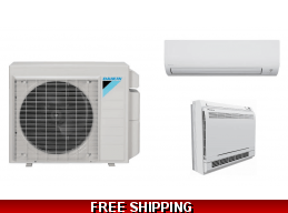 Daikin 9000 Btu 20 SEER Aurora Series Mini Split Heat Pump AC