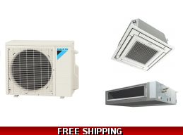 Daikin 18000 Btu Mini Split Heat Pump Air Conditioner