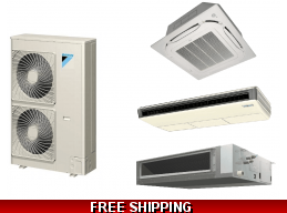 Floor Ceiling Mini Split Heat Pumps | Ductless Air