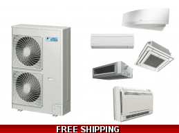 Daikin Custom Multi 2-8 Zone Mini Split Heat Pump Air Conditioner