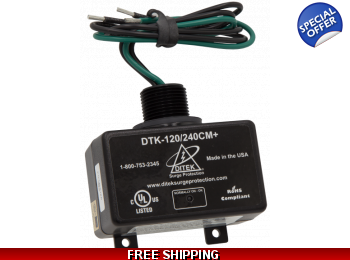 Surge Protector for Ductless Mini Split Heat Pump Air Conditioners