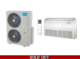 Midea 48000BTU Console Mini Split Heat Pump AC Cassette Ducted