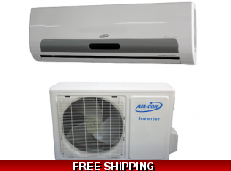 AirCon 9000 Btu 16 Seer 110v Mini Split Heat Pump AC