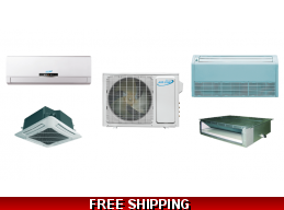 AirCon Custom Multi Zone Mini Split Heat Pump AC Cassette Ducted