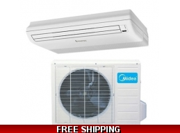 Midea 12000 Btu 19 Seer Universal Mount Mini Split Heat Pump AC