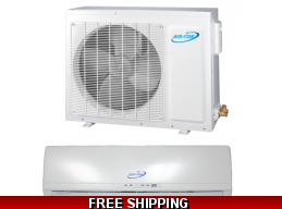 AirCon 18000 Btu 18 Seer Mini Split Heat Pump AC