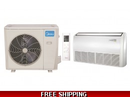 Midea 36000 BTU Mini Split Heat Pump AC Ductless Universal Mount