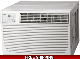12000 Btu Wall and Window Air Conditioner With Heat 220v