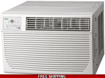 25000 Btu Wall and Window Air Conditioner With Heat 220v