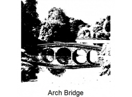 Art Stamps - Arch Bridge