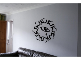 Tribal Art Wall Sticker EYE Wall Art Decor Vinyl Decal Mural