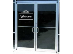 Store Welcome Sign Busi..