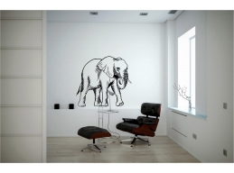 Elephant Wall Sticker W..