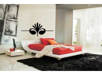 Header Wall Sticker Patterened Wall Decal Art Bedroom Decor Wall Art