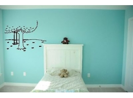 Tree Swing Wall Sticker